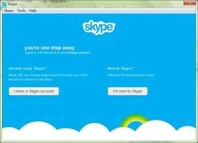 how to merge msn and skype